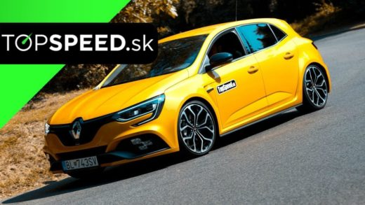 renault megane rs video test recenze