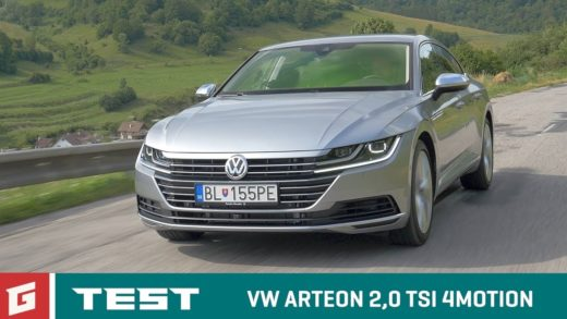Volkswagen Arteon video test recenze