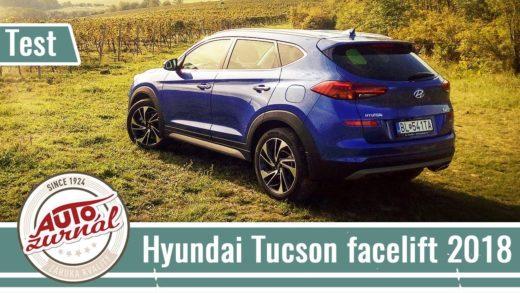 hyundai tucson video test recenze