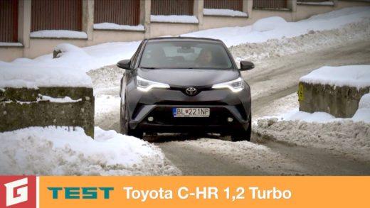 toyota c-hr video test garaz.tv