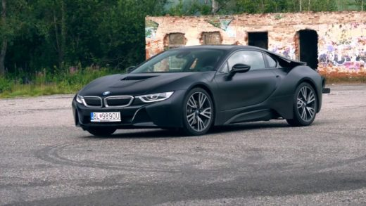 BMW-i8-test video