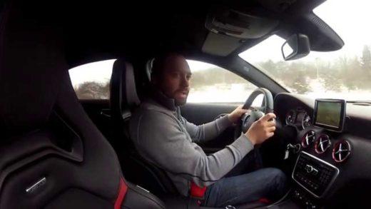 Video test-Mercedes-Benz-A45-AMG
