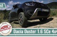 Test Dacia Duster 1.6 SCe 4×4 – Autožurnál
