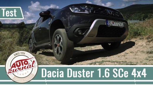 Dacia Duster Video Test