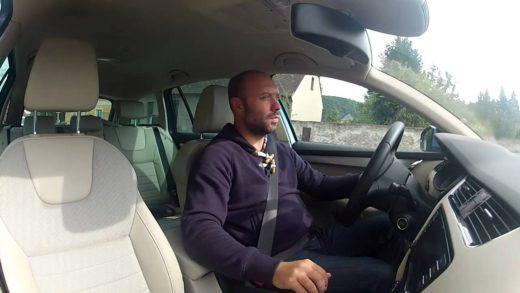 video test skoda octavia hyundai i30