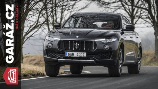 video test maserati levante recenze