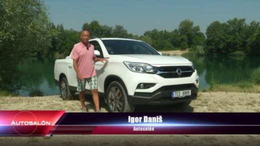 ssangyong musso video testy